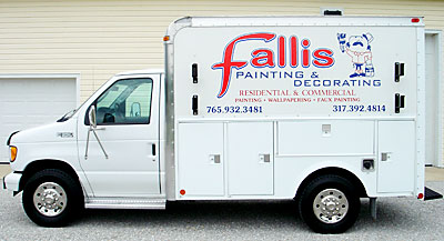 Our painting truck